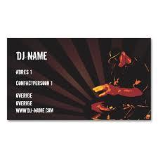 2151 best dj business cards images on pinterest dj business
