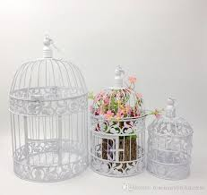 birdcages for wedding european white and black vintage birds cage fashion cinnamon iron
