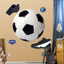soccer wall decals totally kids totally bedrooms kids bedroom assorted soccer graphics