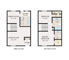 6 X 12 Bathroom Floor Plans Floor Plans Shillington Commons Apartments For Rent In