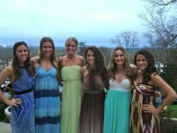 Sorority Formal Dress Social Kappa Kappa Gamma At University Of Kansas