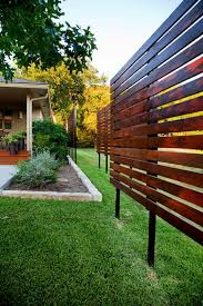 Landscaping Ideas For Backyard Privacy by Dawn Hearn Constructing Wood Free Standing Outdoor Screen To