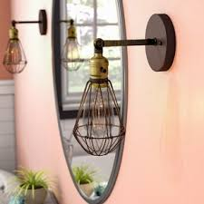 sconce light with switch wall sconce with on off switch wayfair