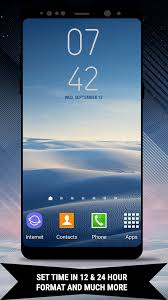 galaxy note8 digital clock widget free and paid app themebowl