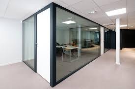 cloison vitr bureau cloison amovible vitr e de bureau open space isolation phonique con