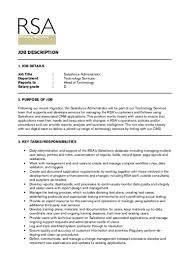 Sample Physician Assistant Resume by Salesforce Administrator Jd