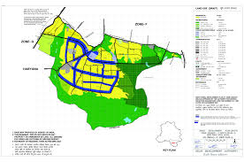 New Delhi India Map by Planning Zonal Plans