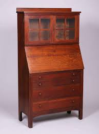 Small Drop Front Secretary Desk by Lifetime Furniture Co Archives California Historical Design