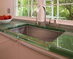 The Best Countertops For Kitchens Set Yourself Apart With A Truly Stunning Glass Countertops Ward