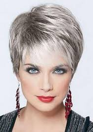 photo gallery of short hairstyles for women over 50 with straight