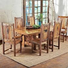 Square Wood Dining Tables Distressed Dining Room Furniture Rectangular Square Reclaimed Wood