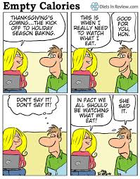 empty calories comic thanksgiving s curse