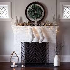 christmas mantel decor 3 ways crate and barrel blog