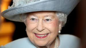 queen elizabeth ii beams after winning a a 98 voucher from roof collapse at horse therapy center wluk