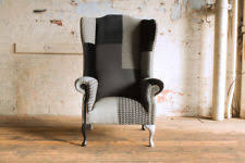 Modern High Back Wing Chair Children U0027s Playroom Modern High Back Chair Armchairs Ebay