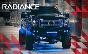 Led Blue Light Bar by Radiance Rigid Industries Led Light Bar Marine Offroad Truck