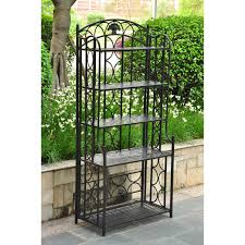 Small Bakers Rack With Drawers Tips Decorative Outdoor Bakers Rack For Indoor And Outdoor Use