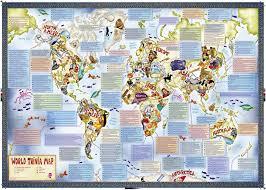 America World Map by Mapsherpa Maps International