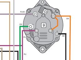 mercruiser alternator wiring diagram diagram wiring diagrams for