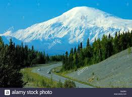 Alaska scenery images Mount sanford volcano street alaska highway scenery landscape usa jpg