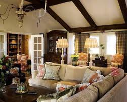 French Country Family Room LightandwiregalleryCom - Country family room ideas