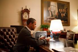 obama at desk ten letters for the president 99 invisible