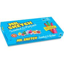 mr sketch scented watercolor markers walmart com