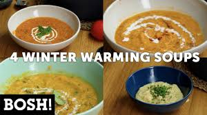 cuisine bosh 4 winter warming soups bosh vegan