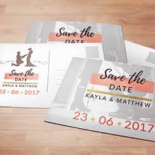 save the date cards tucson az print mail spectrum printing company
