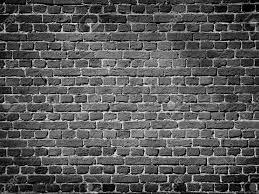 home design brick wall black and white wallpaper window