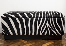 leopard print bench bench decoration