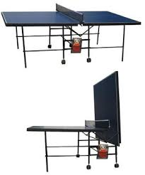 tabletop ping pong table simple folding table tennis table adults indoor type pingpong table