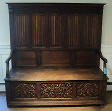 Antique Parsons Bench Antique Hall Bench Ebay