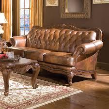 Coaster Leather Sofa Shop Coaster Furniture Brown Genuine