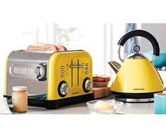 Delonghi Kettle And Toaster Sets Morphy Richards 8pc Kitchen Set Kettle Toaster In Yellow Kitchen