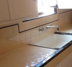 1930s kitchen these are the original 1939 octagon ceramic tiles