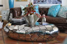 modern oblong stainless steel coffee table mecox gardens