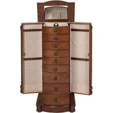 White Jewelry Armoire Mirror Bedroom Fabulous Log Jewelry Armoire Jewelry Armoire For