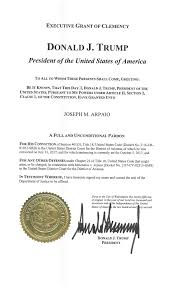 pardon of joe arpaio wikipedia