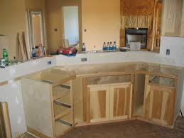 hickory kitchen cabinets elegant natural hickory kitchen cabinets 16 to your home redesign