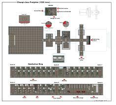 Class C Floor Plans Spaceship Floor Plans Deckplans Engine Room U S S Voyager Star