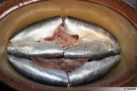 cuisiner le hareng hareng salé au vinaigre recette de cuisine