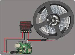 rgb led light controller rgb individually addressable led light strip with arduino controller