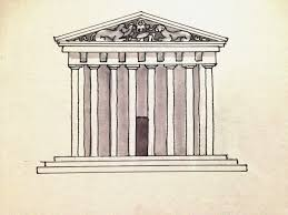 ideal city project ancient greece religious building