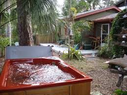 Backyard Guest Cottage by Featured Friendly Accommodations Gulfport Guest Cottage