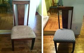 Covering Dining Room Chairs Other Amazing Reupholstering Dining Room Chairs On Other Fabric