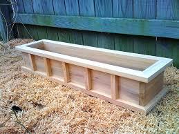 decor corner planter box plans planter box plans diy elevated