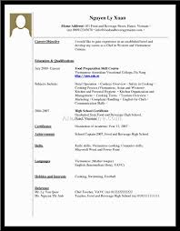 No Job Resume by Experience Resume For Someone With No Experience