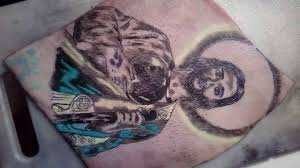 san judas tadeo tattoo youtube