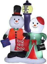 Large Inflatable Christmas Decorations by Large Scale Christmas Decorations Collection On Ebay